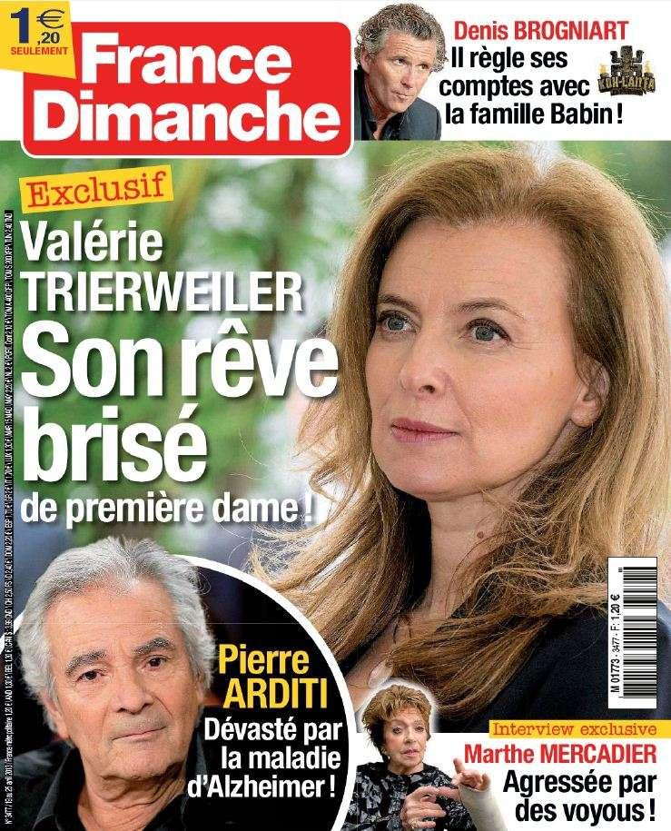 France Dimanche N°3477 du 19 au 25 Avril 2013