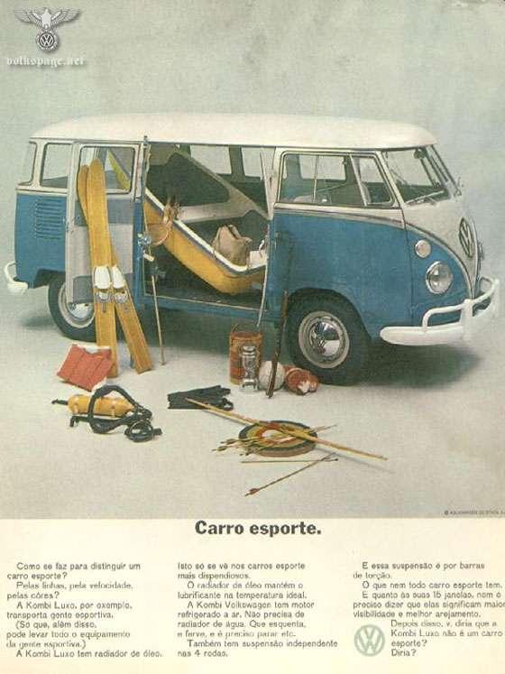 Volkswagen Kombi. Carro esporte.