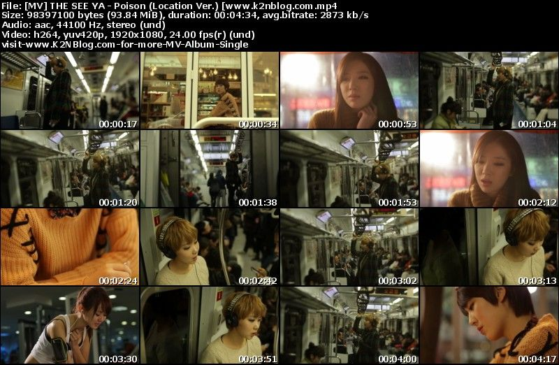 [MV] THE SEE YA - Poison (Ft. Hae-ri of Davichi) (Location Ver.) [HD 1080p Youtube]