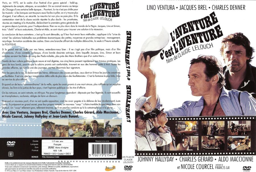 l aventure c 39 est l aventure 1972 dvdrip xvid ac3 notag l s79 download torrent tpb. Black Bedroom Furniture Sets. Home Design Ideas