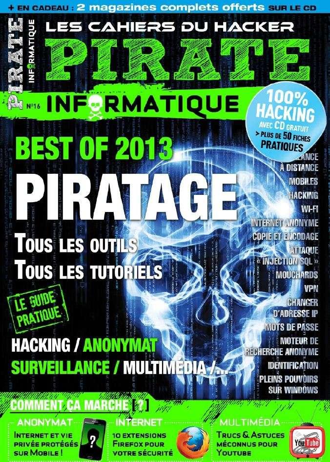 Pirate Informatique N°16 Janvier Février 2013
