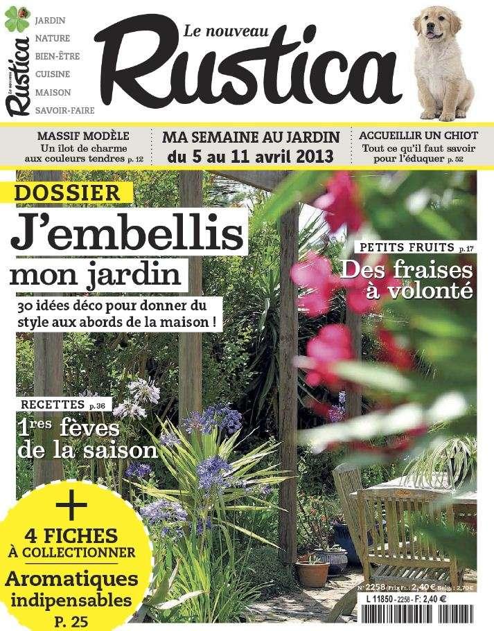 Le Nouveau Rustica N°2258 du 05 au 11 Avril 2013