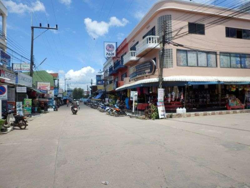 Straße in Ban Saladan
