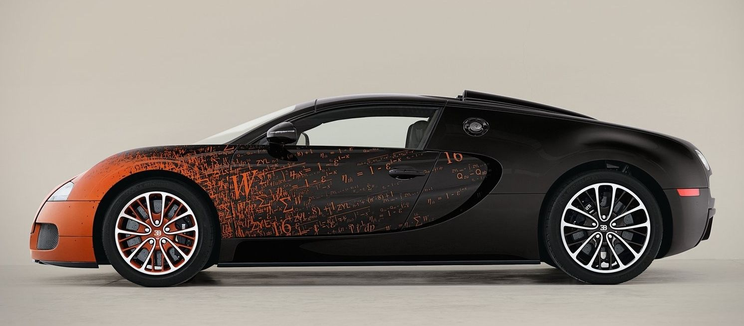 bugatti veyron 16 4 grand sport bernar venet only cars and cars. Black Bedroom Furniture Sets. Home Design Ideas