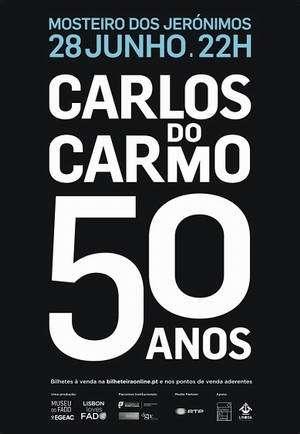 Carlos do Carmo 50 Anos