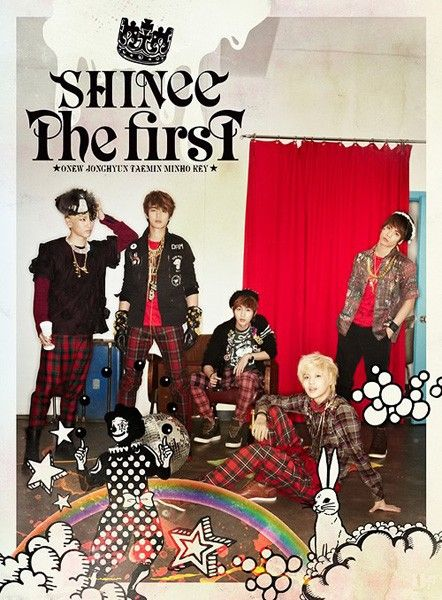 Download SHINee - THE FIRST Japanese Album